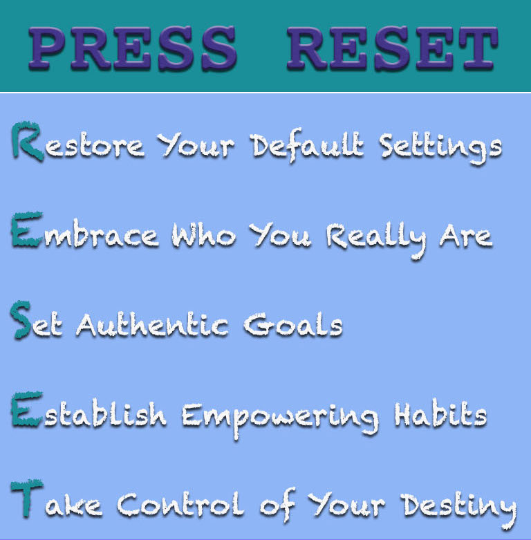Press Reset Infographic